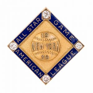 Baseball Pin History