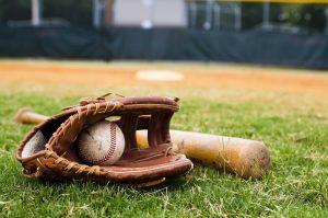 Baseball pin trading